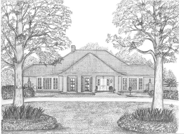 Pencil House Drawings