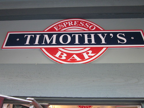 Timothy's Frozen Yogurt (Steveston, BC)