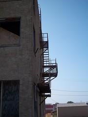 Fire Escape, Stephenville, Texas