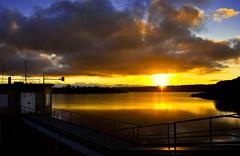Sun goes down at Fish River (Explored)