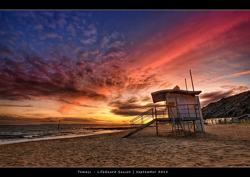 34.2011 - LifeGuard Sunset - Frame