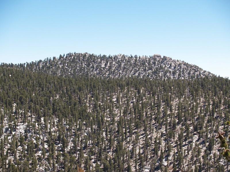 Marion Mountain from Newton Drury Peak