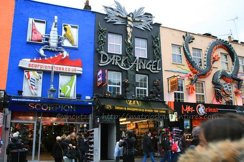 immagini mercatino Camden Town londra