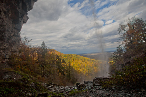 park autumn ny newyork fall water canon mark indian falls trail ii scenary albany l 5d 14k ladder foilage ef f4 1740 thacher 5dii