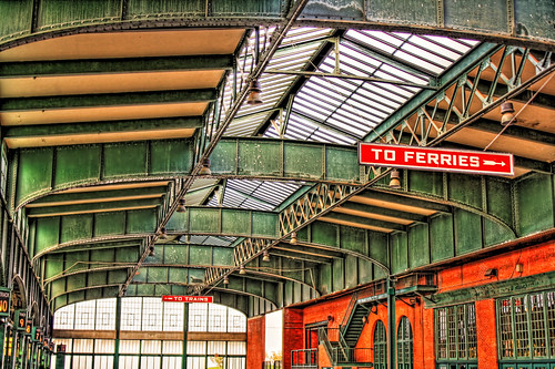 Jersey City NJ - Central Railroad of New Jersey Terminal CRRNJ Terminal 02 by Daniel Mennerich