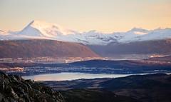 Tromsø from Sørtinden