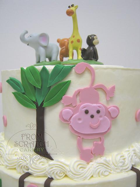 baby shower jungle animal theme closeup flickr photo sharing