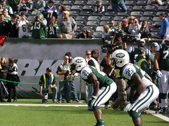 New York Jets Running Backs LaDainlian Tomlinson and Joe McKnight