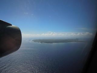 硫黄島が見えてきた!