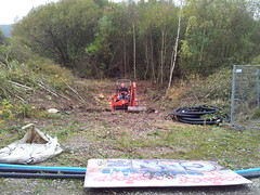 Works commencing Oct 2011, Cromwell Bottom.