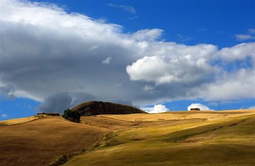 sicily sicilia colline entroterra
