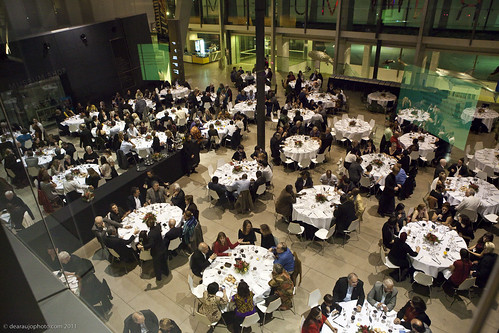 The Summit Dinner at the Melbourne Museum