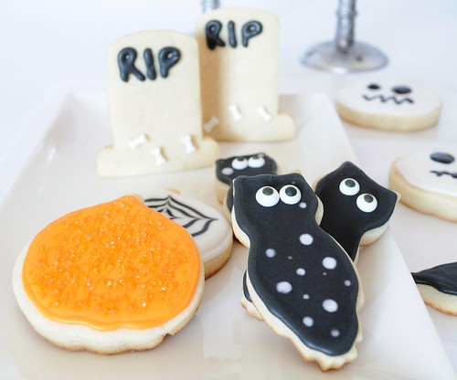 Halloween decorated cookies 2