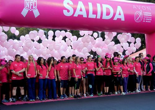 La carrera Avon 2012 cruzada contra el cáncer de mama en el DF
