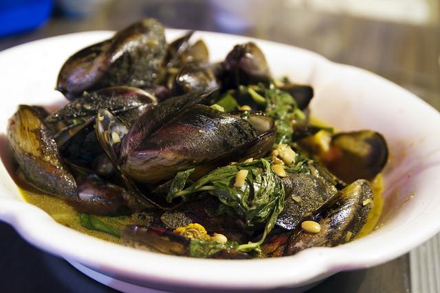 Omg mussels