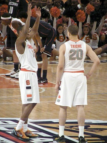 Scoop Jardine and Brandon Triche, Syracuse Orange
