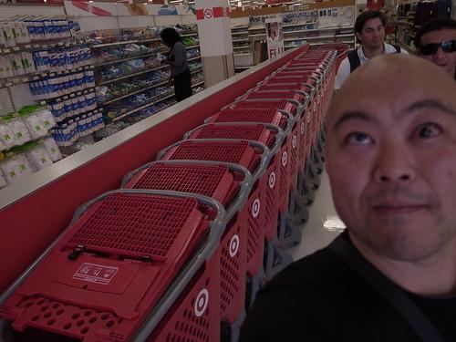 Me at Target