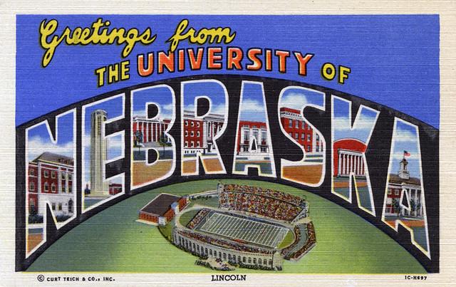 Greetings From The University Of Nebraska Lincoln Large