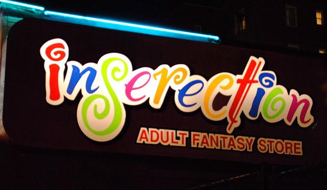 Adult fantasy store