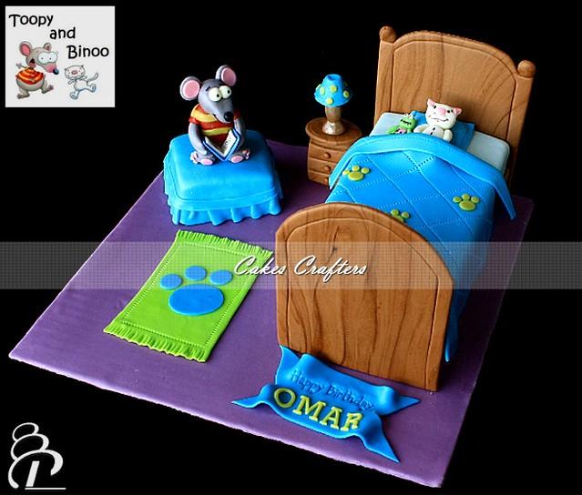 Toopy And Binoo Cake Decorations