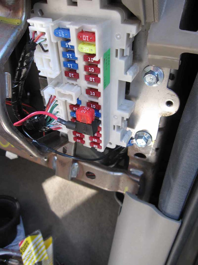 How To Install Heated Seats Second Generation Nissan Xterra 2006 Fuse Diagram Report This Image