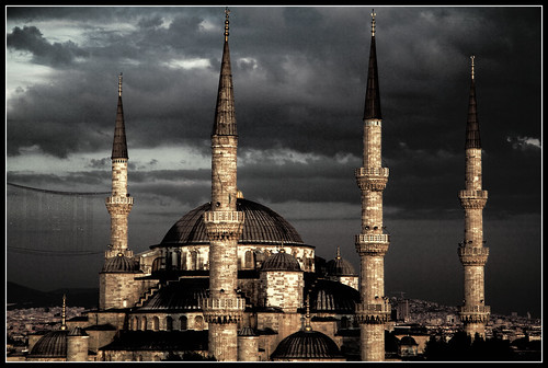 Dark Blue Mosque
