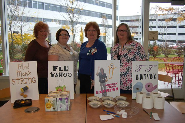 Minute to Win It Games at Sinai Hospital - November 16, 2011