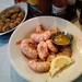 shrimp at Half Shell Oyster House.