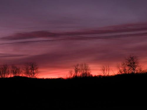 pink november ohio sky night sunrise purple bellbrook geotaggedohio washingtonmillpark kkfrombb