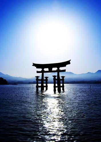 Miyajima Torii  [Worldheritage] by orihashi