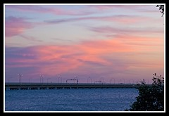 Sunset Cloud over Houghton Highway-1=