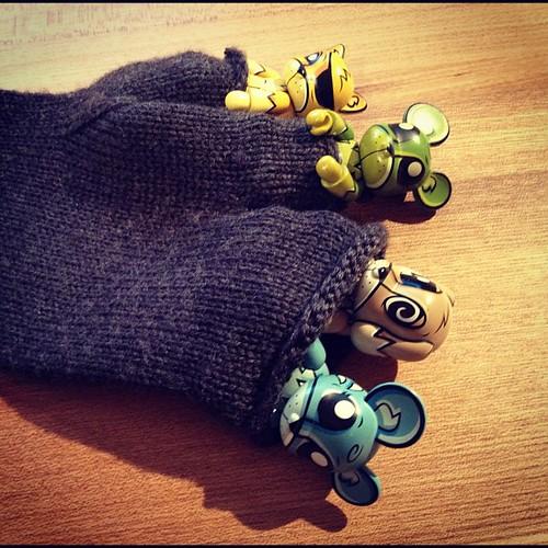 また指ぬき手袋かっちったσ(^_^;)