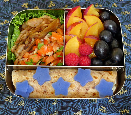 Deconstructed Pork Tacos Bento by sherimiya ♥