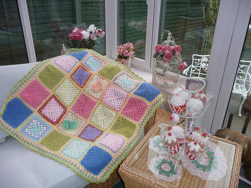 I love pastel colours, these Squares are lovely.