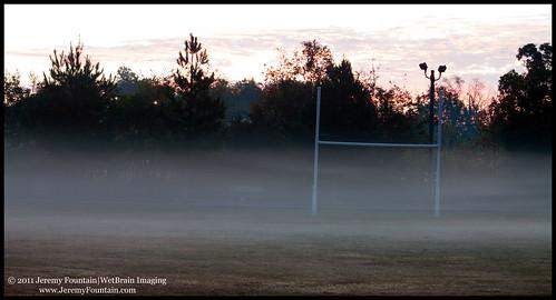 fog ga parks savannah sunrises