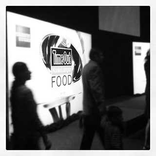 At the @timeoutkl food awards 2011! Go foodies! #TOKLFood