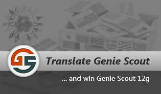 Translate Genie Scout and win!