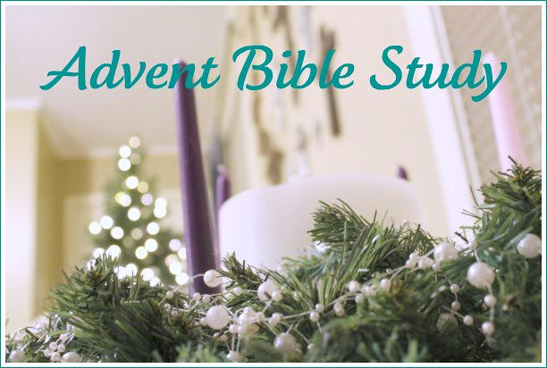 advent wreath - bible study