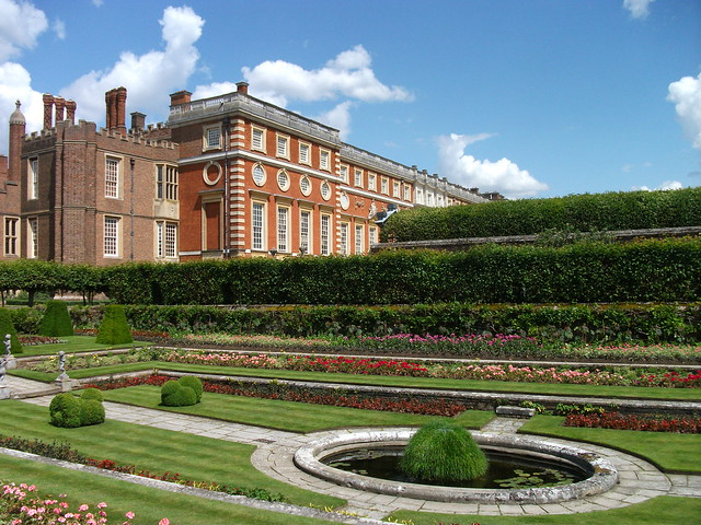 The Gardens of Hampton Court