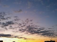 【写真】朝焼け