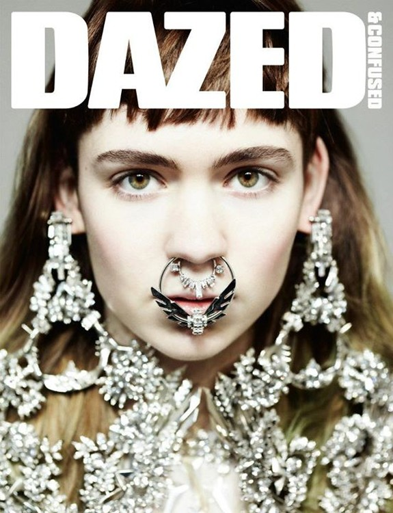 Editorial — Dazed & Confused, April 12 — Grimes by Hedi Slimane and styling by Robbie Spencer