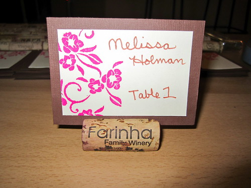 Stamped Place Cards