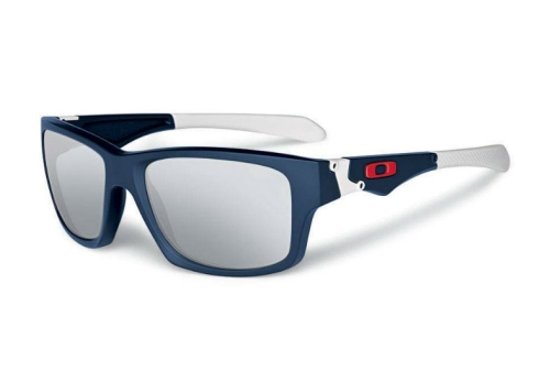 OAKLEY JUPITER SQUARED NAVY WHITE CHROME