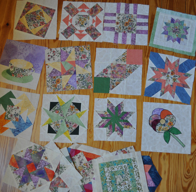 Pizza box quilt - blocks only | Flickr - Photo Sharing!