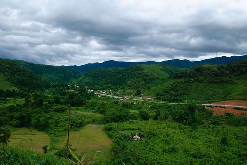 landscape geotagged laos lao bannamha loungnamtha geo:lat=2082882501 geo:lon=10127318868