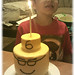 My Son and His Lego Head Cake