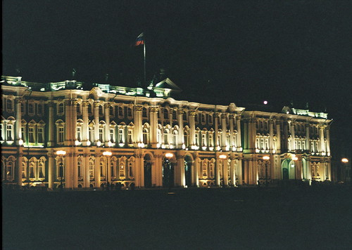 Evening Winter Palace