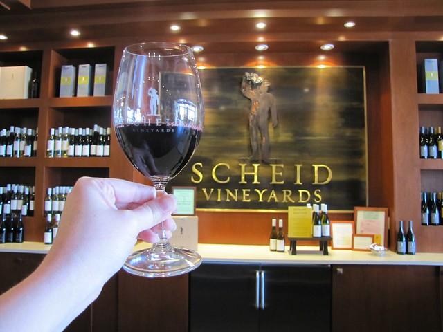Scheid Vineyards Wine Lounge