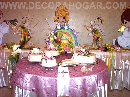 Decoraci n primera comuni n estando a la orden muchas - Decoracion primera comunion ...