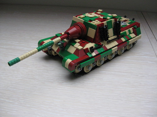 lego jagdtiger camo (tan dark red green ) (14)